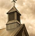 Galisteo Church, New Mexico by Catherine Sobredo