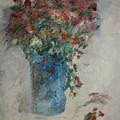 Gallon Can Florals by Edward Wolverton