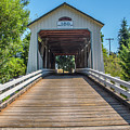 Gallon House Covered Bridge by Matthew Irvin