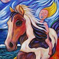 Gallop Along The Beach by Dianne  Connolly