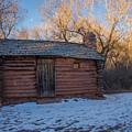 Galloway Homestead Cabin by Michael Mullennix