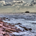 Galveston's Piers by Doc Hafferty
