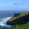 Galway Bay Churning Below The Cliffs Of Moher by DejaVu Designs