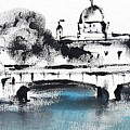 Galway - Monochromatic  by Mary Cahalan Lee- aka PIXI
