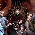 Game Of Thrones by Carl Gouveia