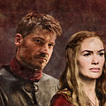Game Of Thrones. Cersei And Jaime. by Nadezhda Zhuravleva