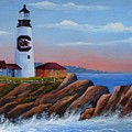 Gamecock Lighthouse by Jerry Walker