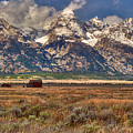 Gand Tetons by Brenda Jacobs