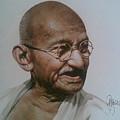 Gandhiji by Rajasekharan Parameswaran
