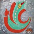 Ganesha Symbolic by Parveen Shrivastava