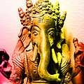 Ganesha Triptych by Lita Kelley