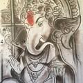 Ganesha  by Vaibhav singh Sengar