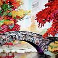 Gapstow Bridge I by Jelly Starnes