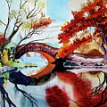 Gapstow Bridge II by Jelly Starnes