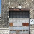 Garage Door Industrial 1 by Anita Burgermeister