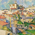 Gardanne By Paul Cezanne by Paul Cezanne
