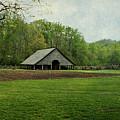 Garden And Barn by Sandy Keeton