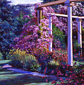 Garden Arbor by David Lloyd Glover