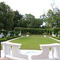 Garden At Crane Cottage by Katherine W Morse
