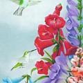 Garden Beauties by Merle Blair
