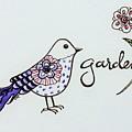 Garden Bird by Elizabeth Robinette Tyndall