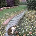 Garden Delights I by Karen Zuk Rosenblatt
