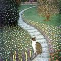 Garden Delights II by Karen Zuk Rosenblatt