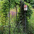 Garden Entrance by Alan L Graham