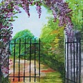 Garden Entrance by Trilby Cole