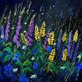 Garden Flowers 679080 by Pol Ledent