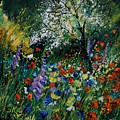 Garden Flowers by Pol Ledent