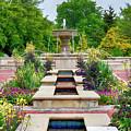 Garden Fountain by Amy Jackson