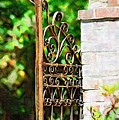 Garden Gate by Donna Bentley