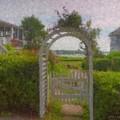 Garden Gate Falmouth Massachusetts by Bill McEntee