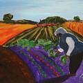 Garden In The Field by Lidija Ivanek - SiLa