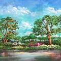 Summer In The Garden Of Eden by Randy Burns