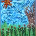 Garden Of Eden Nature Overwhelming Itself by Michelley QueenofQueens