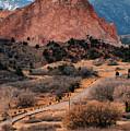 Garden Of The Gods - Colorado Springs Co by Gregory Ballos
