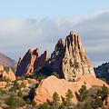 Garden Of The Gods Colorado Springs by Steve Krull