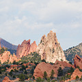 Garden Of The Gods From A Distance by Steve Krull