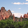 Garden Of The Gods by Margaret Fortunato
