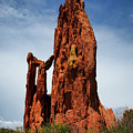 Garden Of The Gods Tower Formation by Edward Moorhead