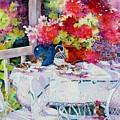 Garden Party by Nicole Gelinas