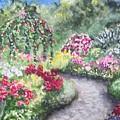 Garden Path by Conni  Reinecke