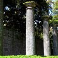 Garden Pillars by Valentino Visentini
