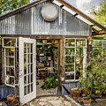 Garden Shed by Jim Collier