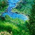 Garden Stream by Jamie Frier
