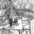 Garden Table by Jo Anna McGinnis