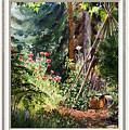 Garden View Window by Irina Sztukowski