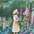 Garden Walk - C by Val Stokes